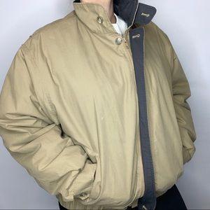 Limited Edition Tan London Fog Jacket Large